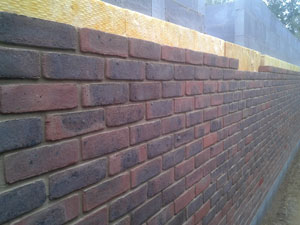 Brickwork finish for home extensions