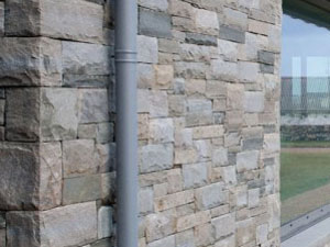Stone wall finish for home extensions