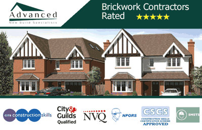 Brickwork Contractors Business Card