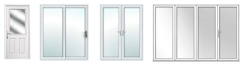 Door types to choose from