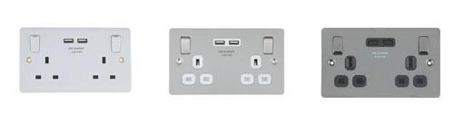 Select plug sockets