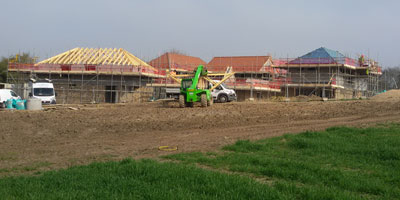 House builders - Lower Halstow project